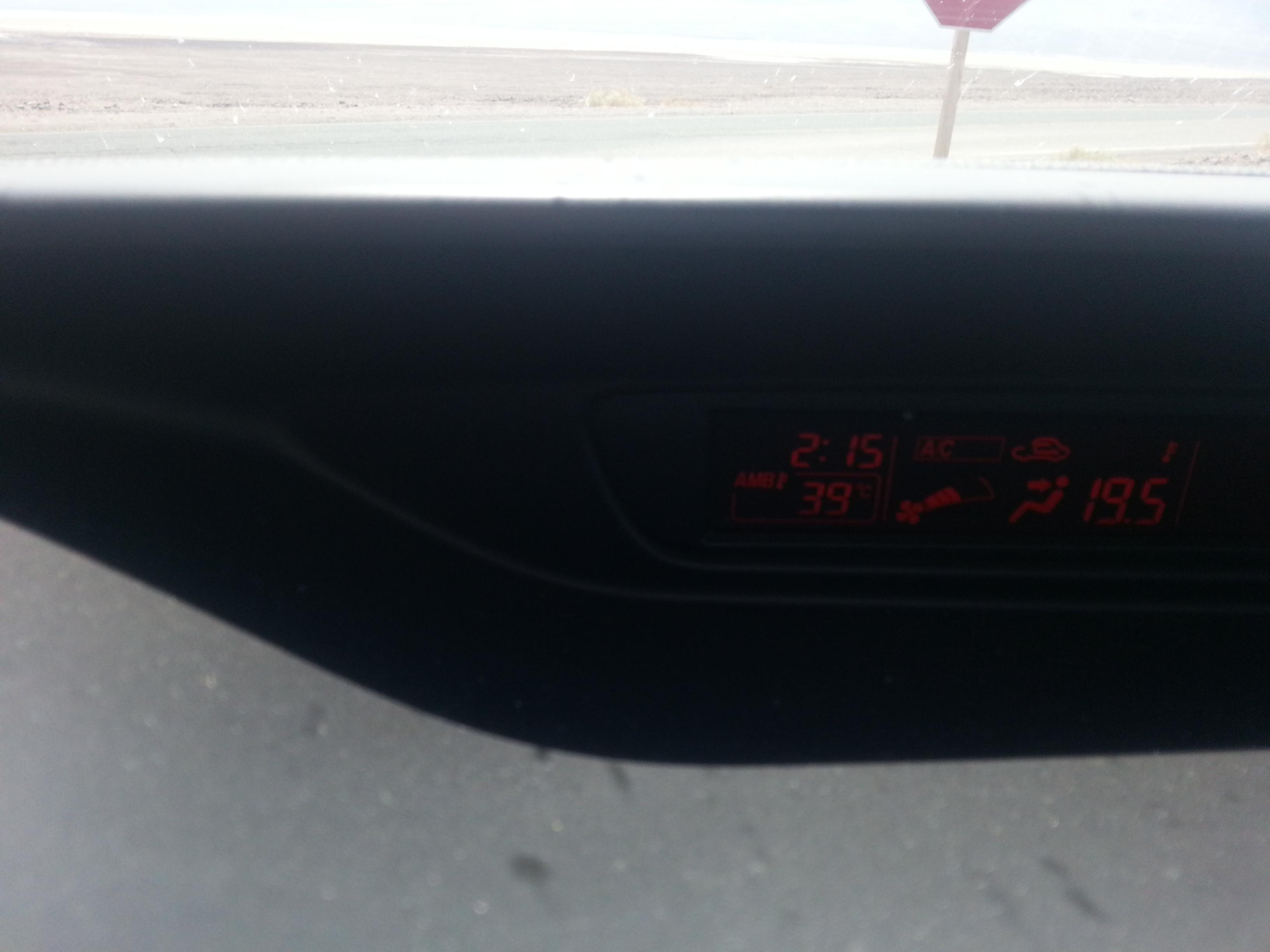 Warm ist's
