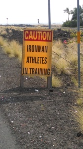 Ironman in training